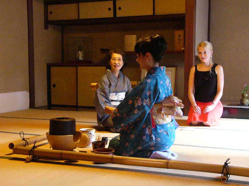 Comment se comporter lors de la cérémonie du thé japonais