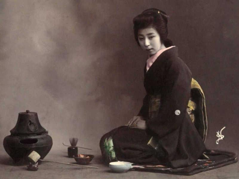 Histoire de la Cérémonie du thé