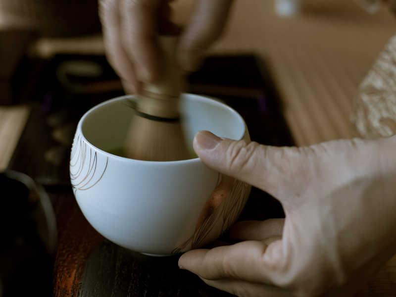Ustensiles nécessaires à la cérémonie du thé